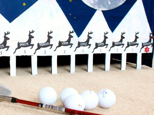 diy-indoor-golf-game-reindeer-santa-sleigh-christmas-fun-game