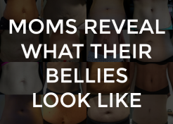 Moms Reveal What Their Bellies Look Like