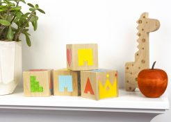 [Free Printables] DIY Wood Blocks from Petit Collage