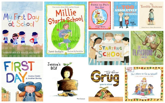 Top Ten Books About Starting School