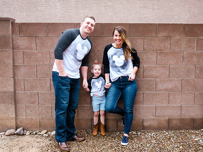 Disney Tees For The Whole Family