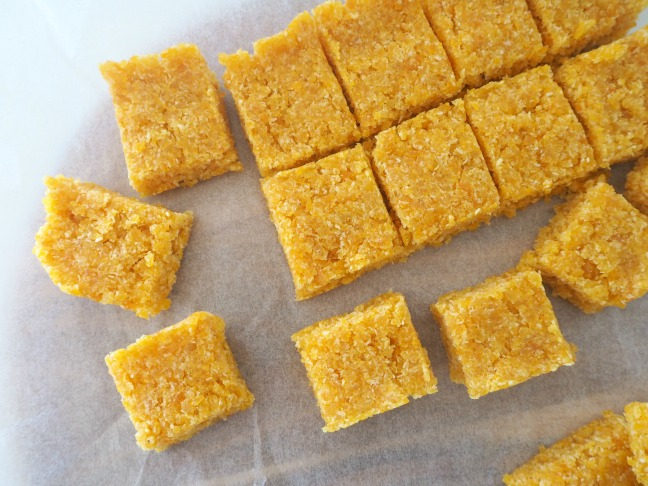 2 Ingredient Apricot and Coconut Slice