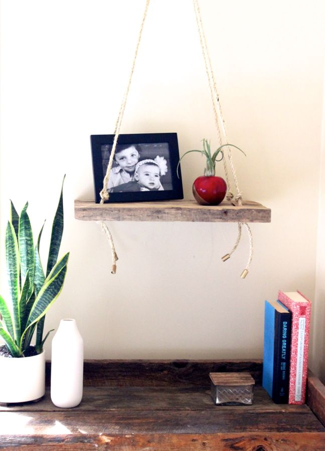 swing wood shelf anthropologie