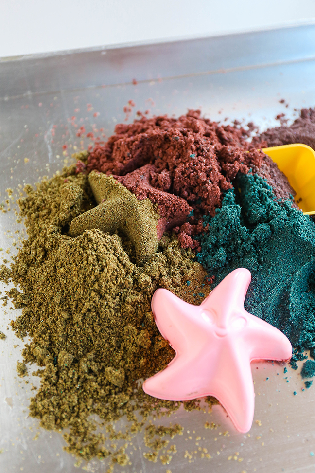 DIY Kinetic Sand To Make With The Kids