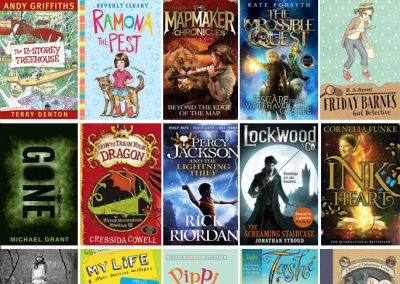 20 Book Series that Boys and Girls Both Love - hand picked
