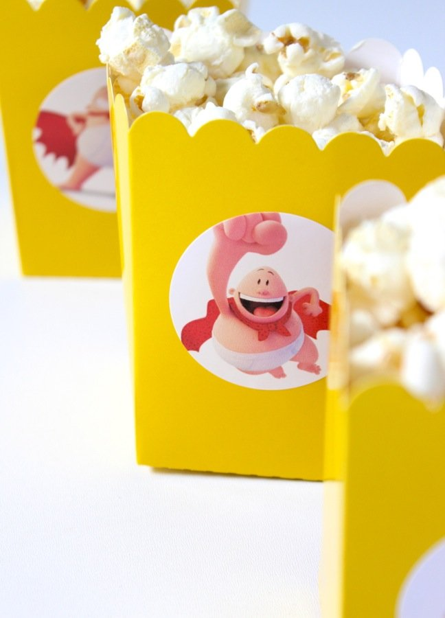 yellow-popcorn-boxes-with-captain-america-sticker