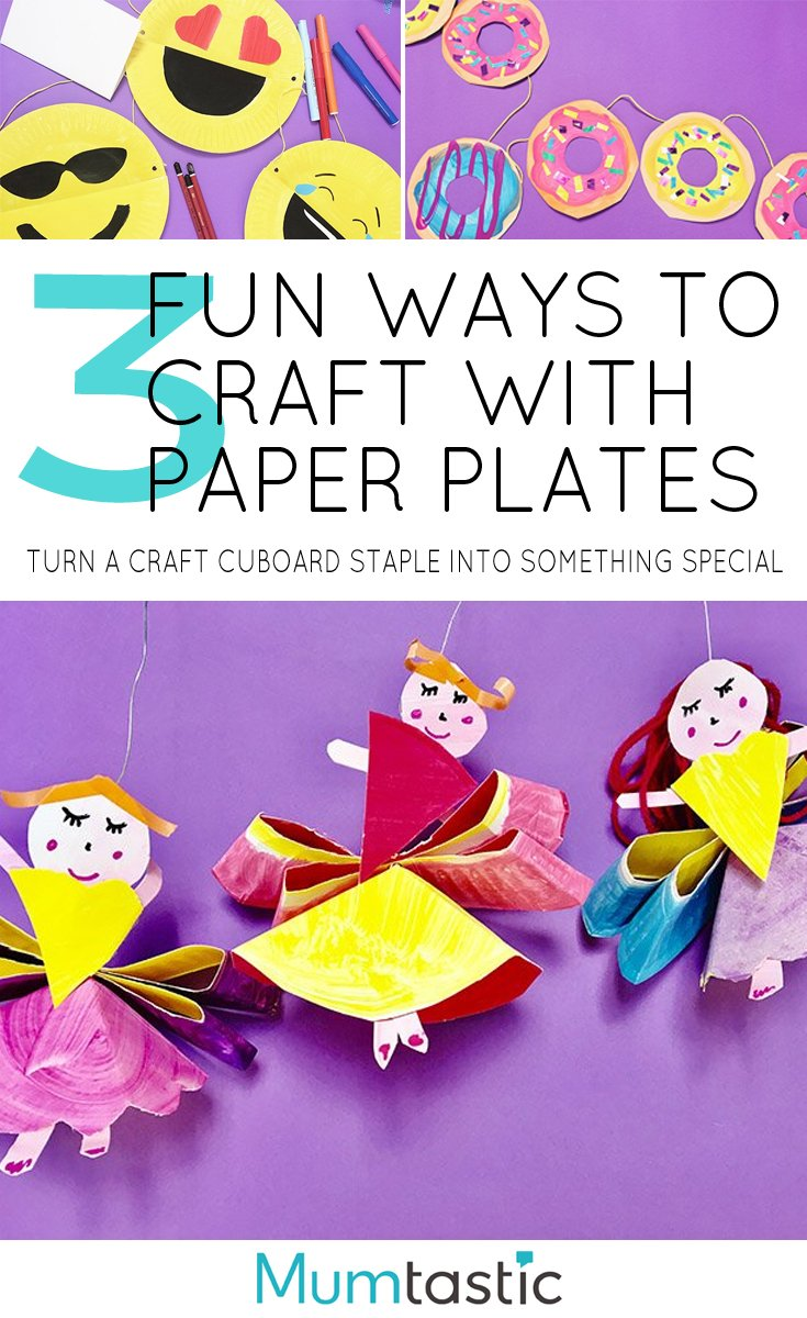 3 Fun Ways with Paper Plates