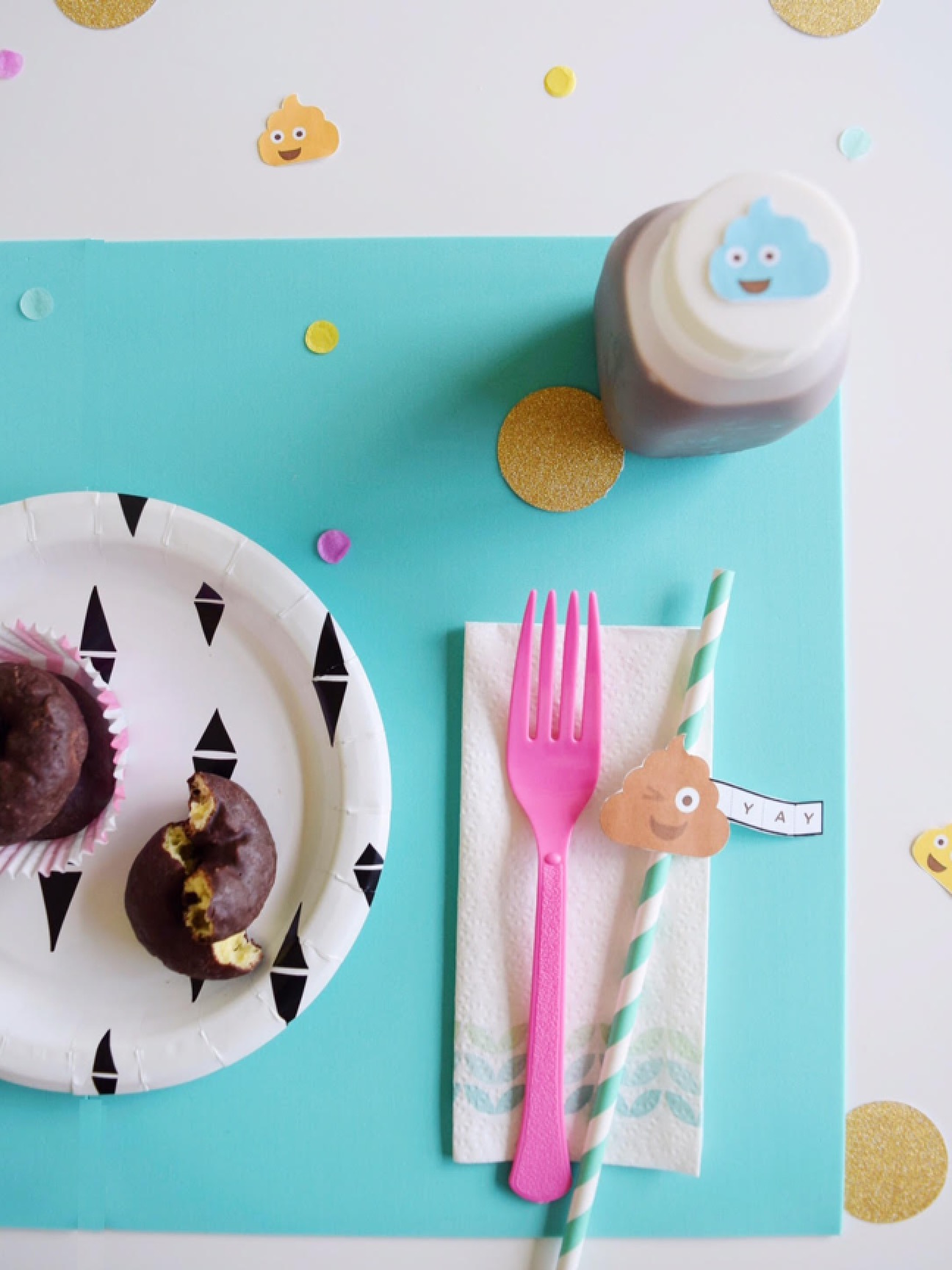 DIY Potty Like Rockstar Tablescape and Printables   Potty Training Party