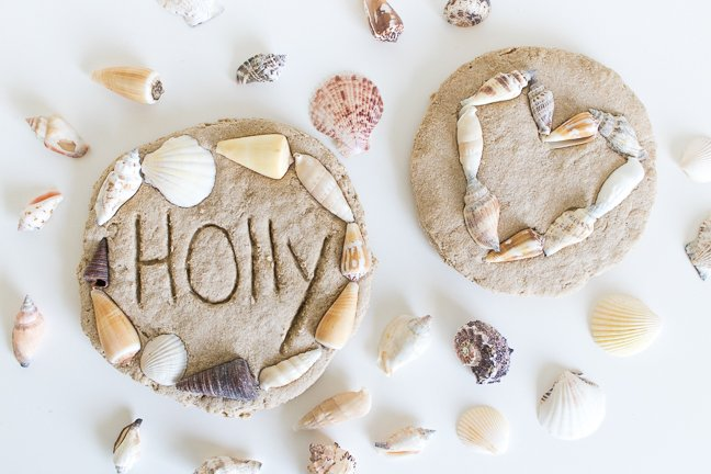 Make Sand Clay Keepsakes to Commemorate Beach Holidays
