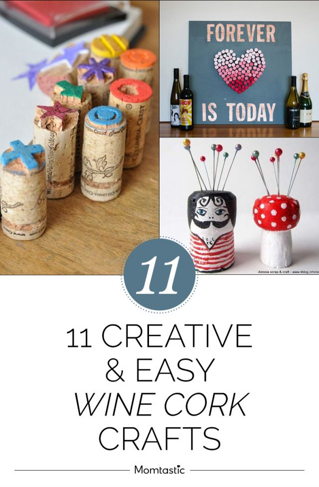 11 Creative & Easy Wine Cork Crafts
