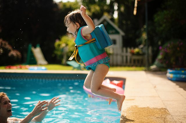 Why Moms Should Stop Sitting On The Sidelines & Get In The Pool