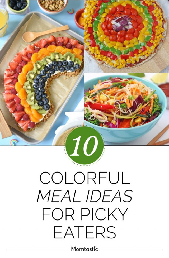 10 Colourful Meal Ideas For Picky Eaters