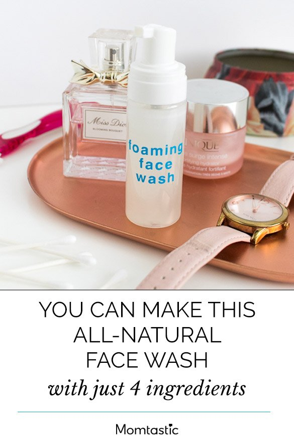 You Can Make This All-Natural Face Wash With Just 4 Ingredients