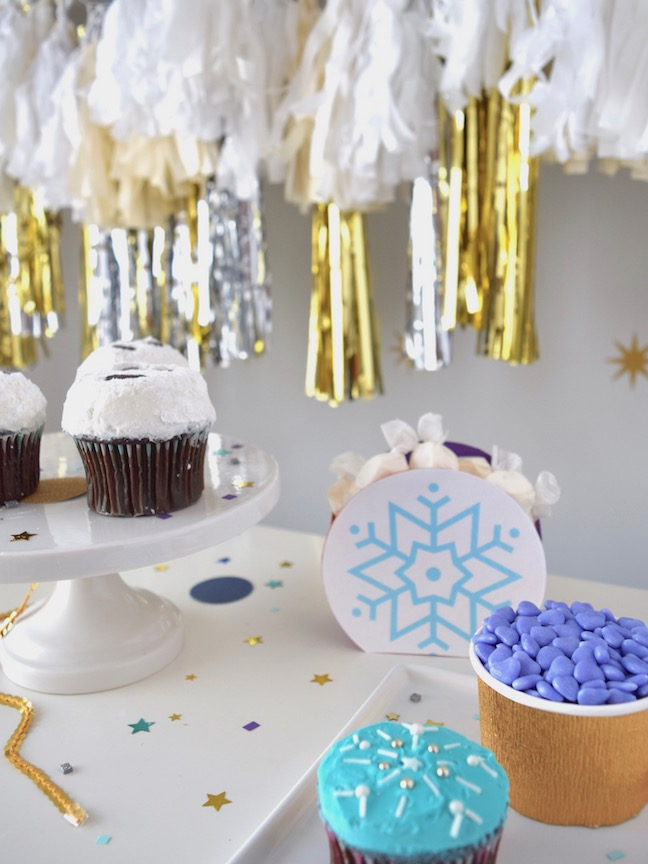 Frozen-Inspired Winter Wonderland Oscar's Party