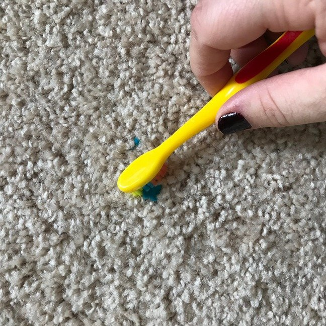 How To Get Playdough Out Of Carpet