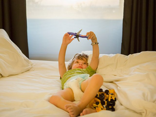 travel with a toddler
