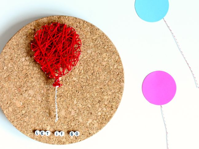 Amazingly Easy Diy String Art Tutorial No Hammer Or Nails Required