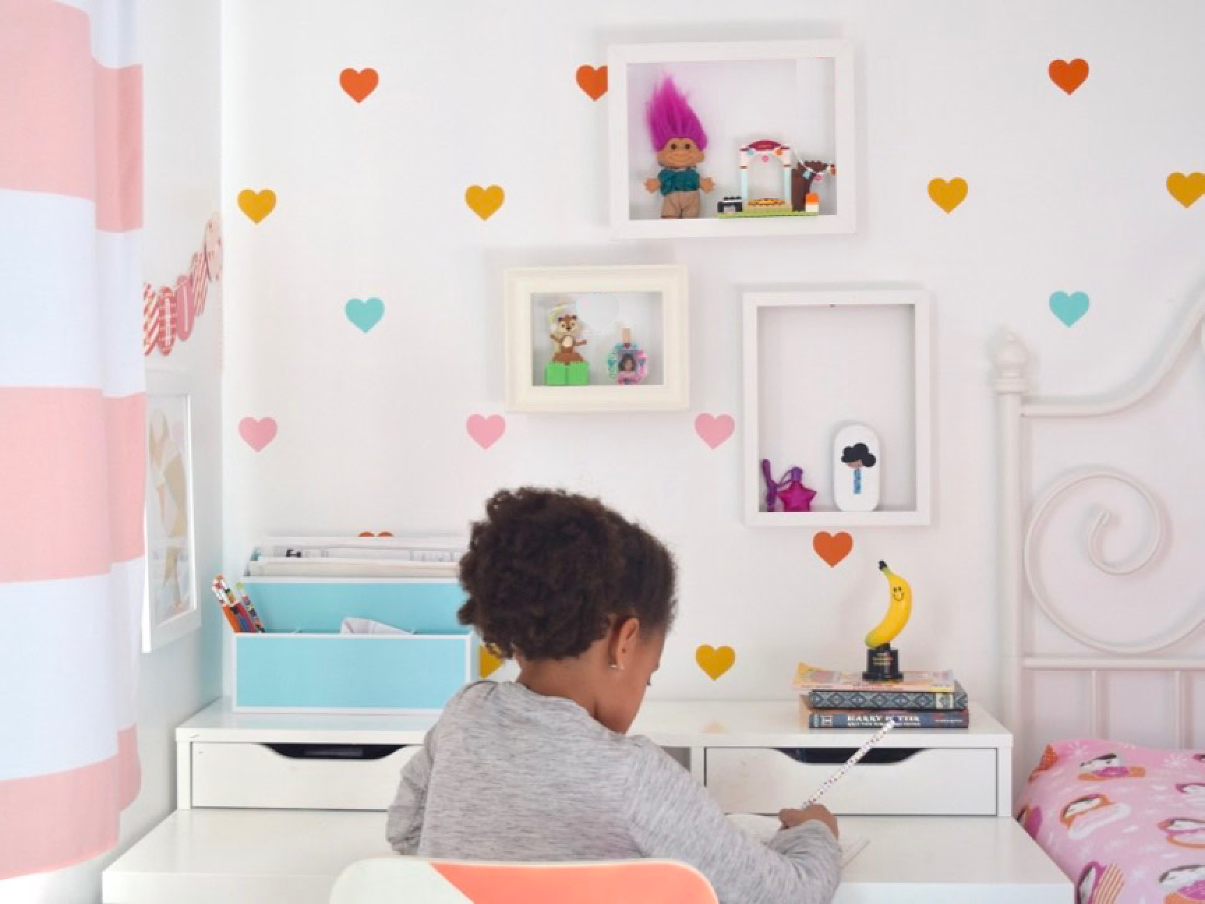 Toys Taking Over Your Space? These DIY Picture Frame Shelves Will Help