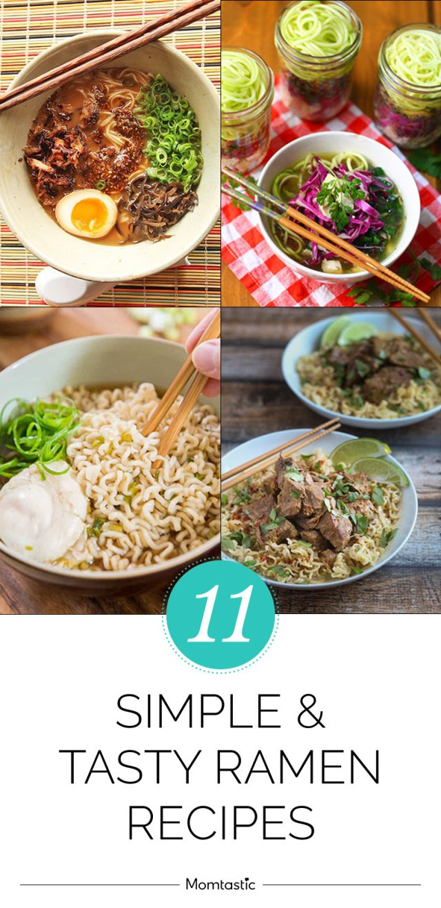 11 Simple and Tasty Ramen Recipes
