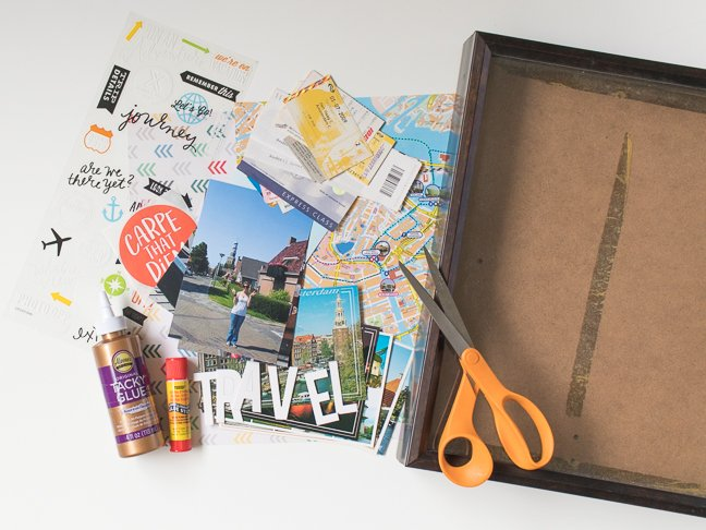 Preserve your Vacation with a DIY Travel Collage