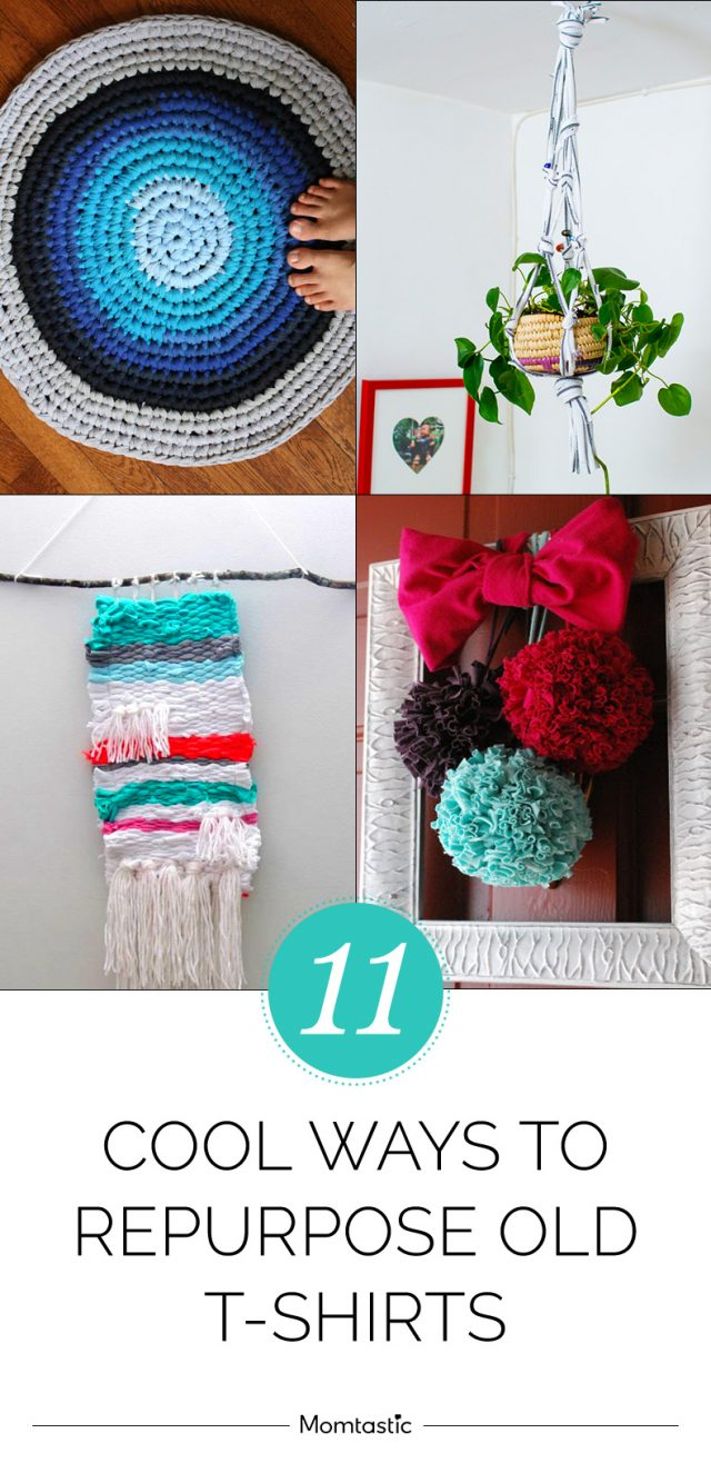 11 Cool Ways to Repurpose Old T-Shirts