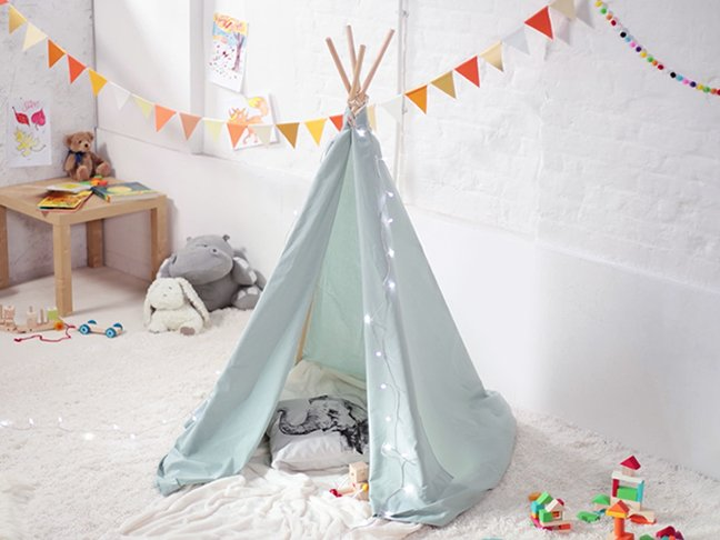 DIY tents and awnings without sewing