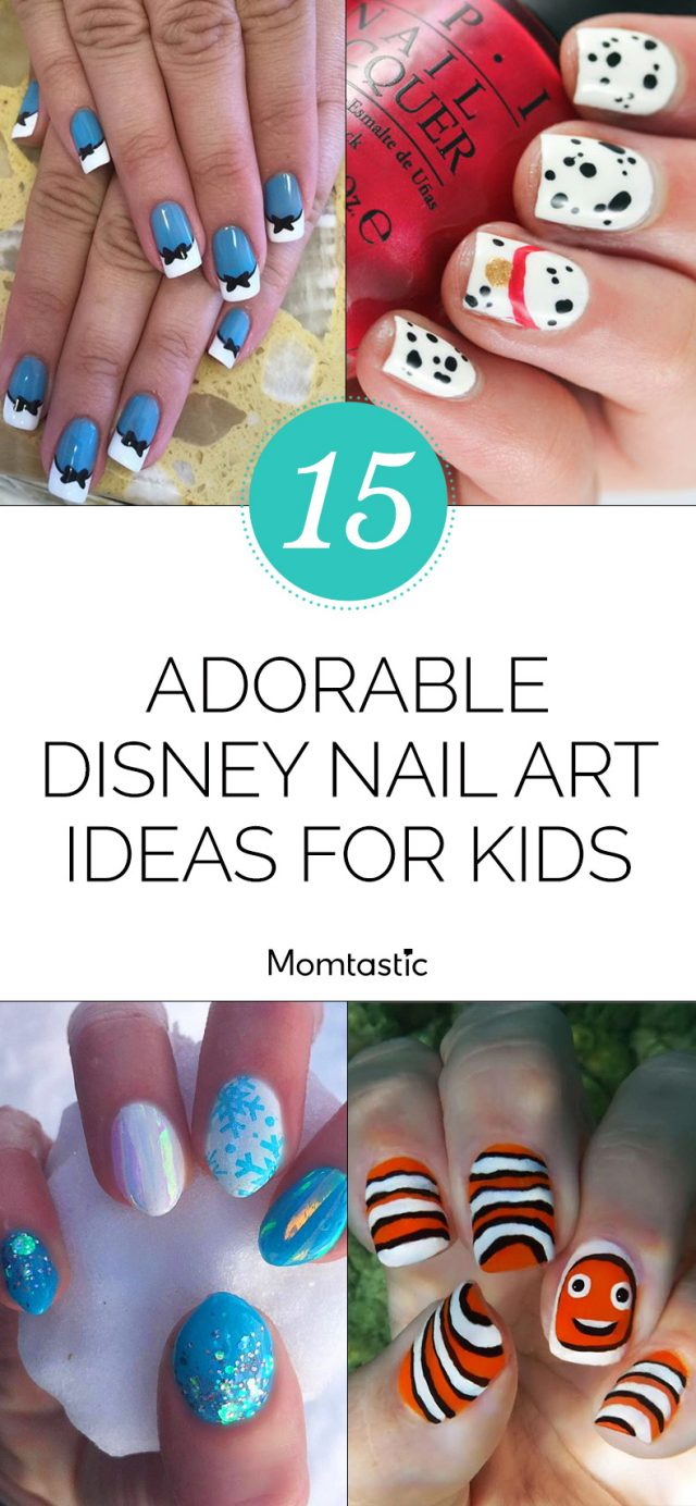 15 Adorable Disney Nail Art Ideas for Kids
