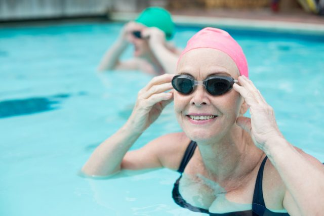 What I Learned In My Aqua Cardio Class Full of Seniors