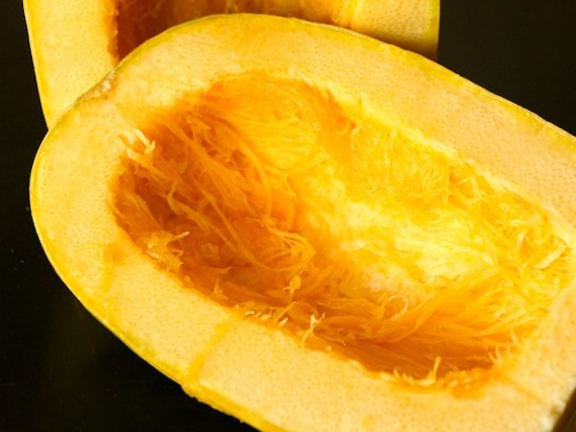 spaghetti-squash-seeds removed-yellow