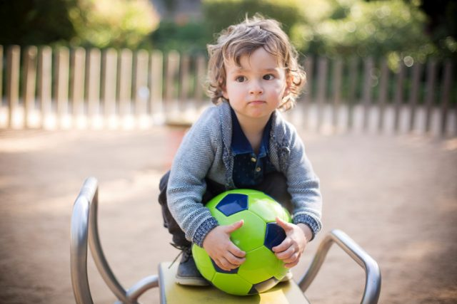 When Can a Toddler Throw and Kick a Ball?