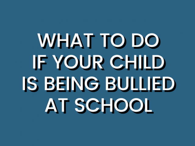 What to Do If Your Child Is Being Bullied at School by @letmestart for @itsMomtastic | School days