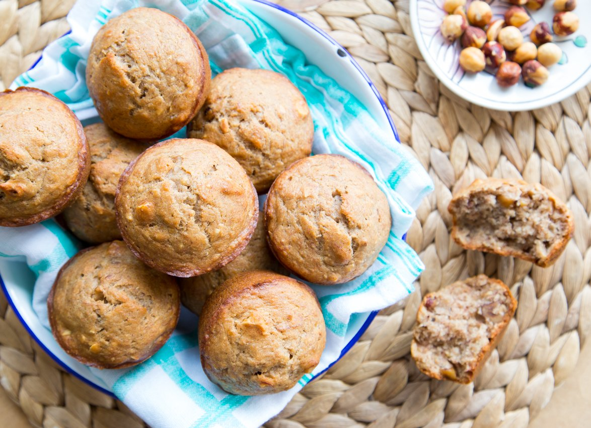 No One Will Know These Banana Nut Muffins are Actually Vegan!