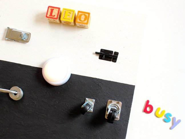 diy-busy-board-with-leo-letters-and-hardware-toy-for-toddlers