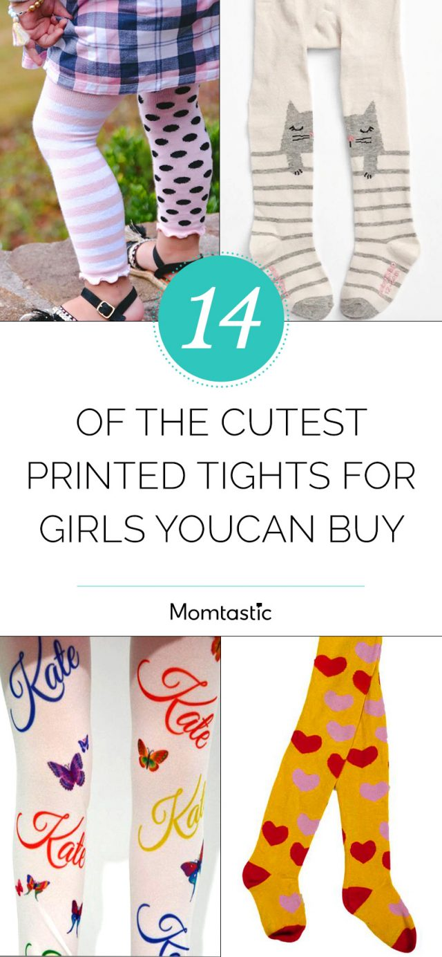 14 of the Cutest Printed Tights for Girls You Can Buy