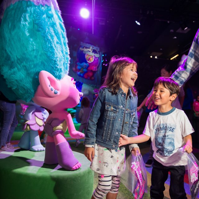 """DreamWorks Trolls The Experience"" in NYC"