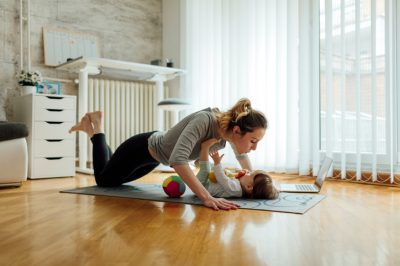 workouts you can do with your baby
