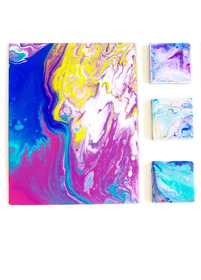 Here's All The Dirty Details For A Dirty Art Pour