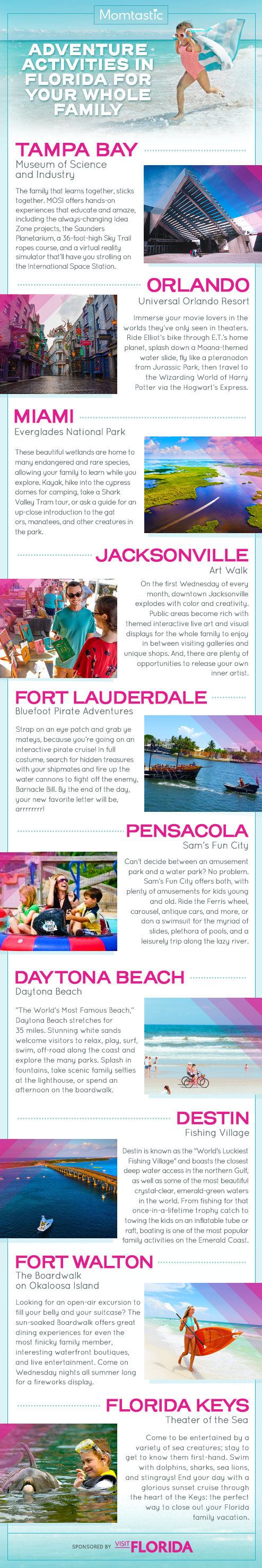 Adventure Activities in Florida for Your Whole Family