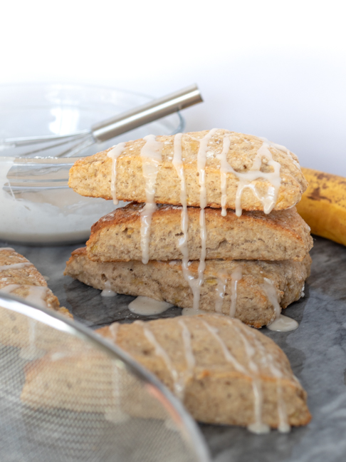 Make these Banana Bread Scones for Easy Morning Treats