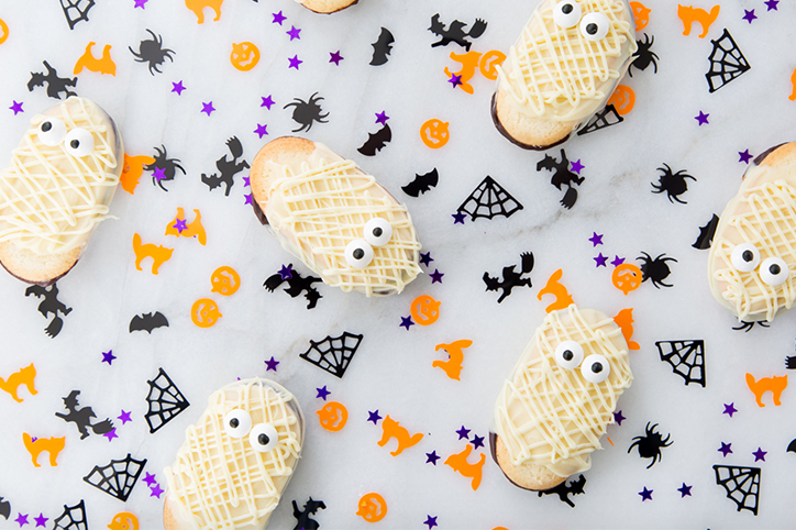 The Easiest No-Bake Halloween Cookies You Will Ever Make