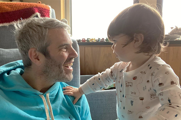 Andy Cohen's Reunion With Son After Coronavirus Recovery Is So Sweet