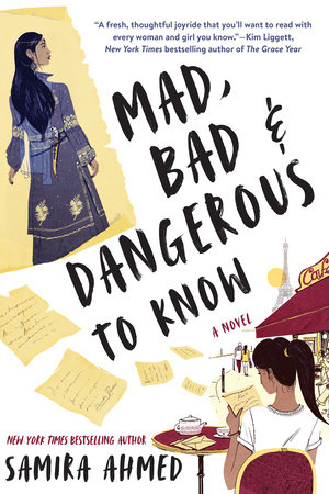 How to Make Sure Your Kids Have a Diverse Bookshelf (and Actually Read from It) @letmestart on @itsMomtastic | Raising readers, kind kids, and encouraging empathy. Featuring the book Mad, Bad, and Dangerous to Know by Samira Ahmed.