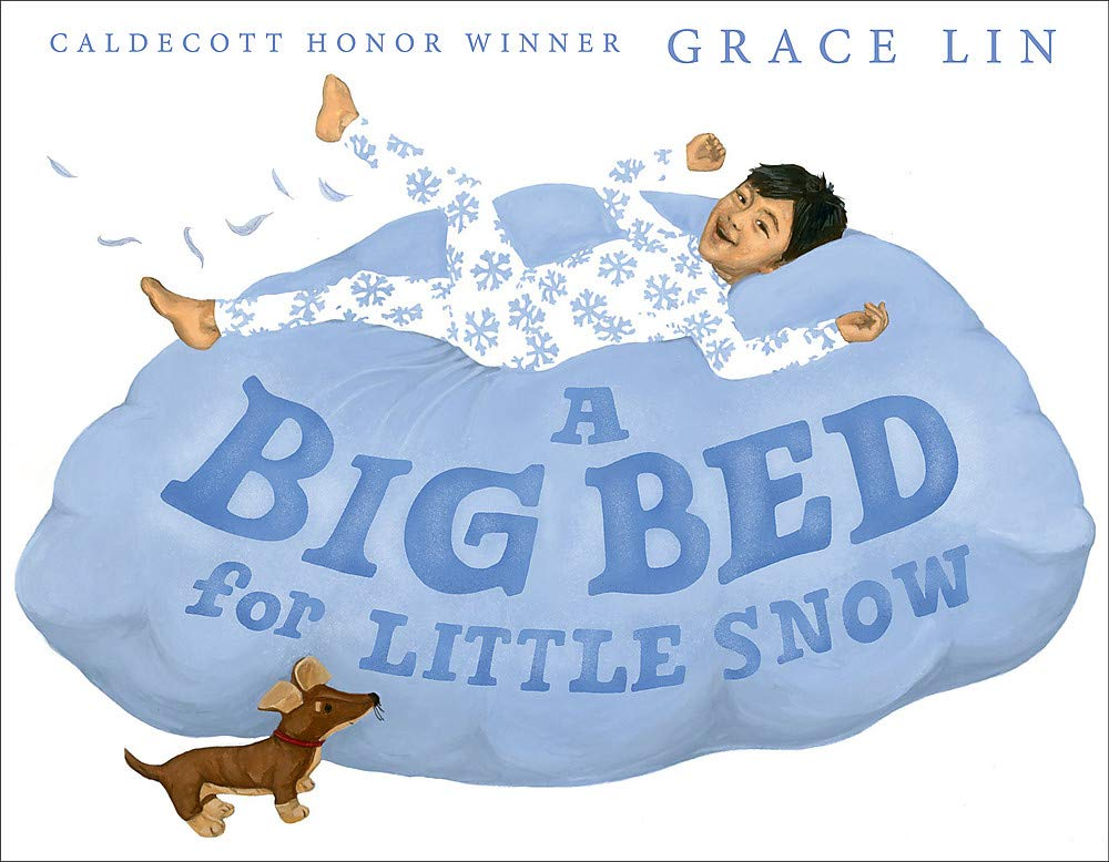 How to Make Sure Your Kids Have a Diverse Bookshelf (and Actually Read from It) @letmestart on @itsMomtastic | Raising readers, kind kids, and encouraging empathy. Featuring the book A Big Bed for Little Snow by Grace Lin