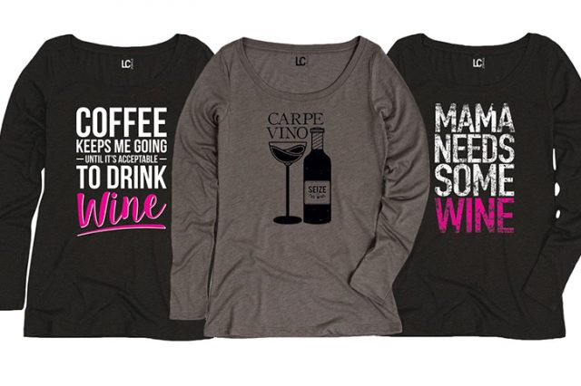 Aren't We All Better Than Wine-Themed T-Shirts?
