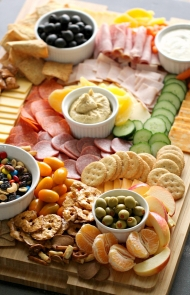 Cutie and Trail Mix Charcuterie Board for Kids
