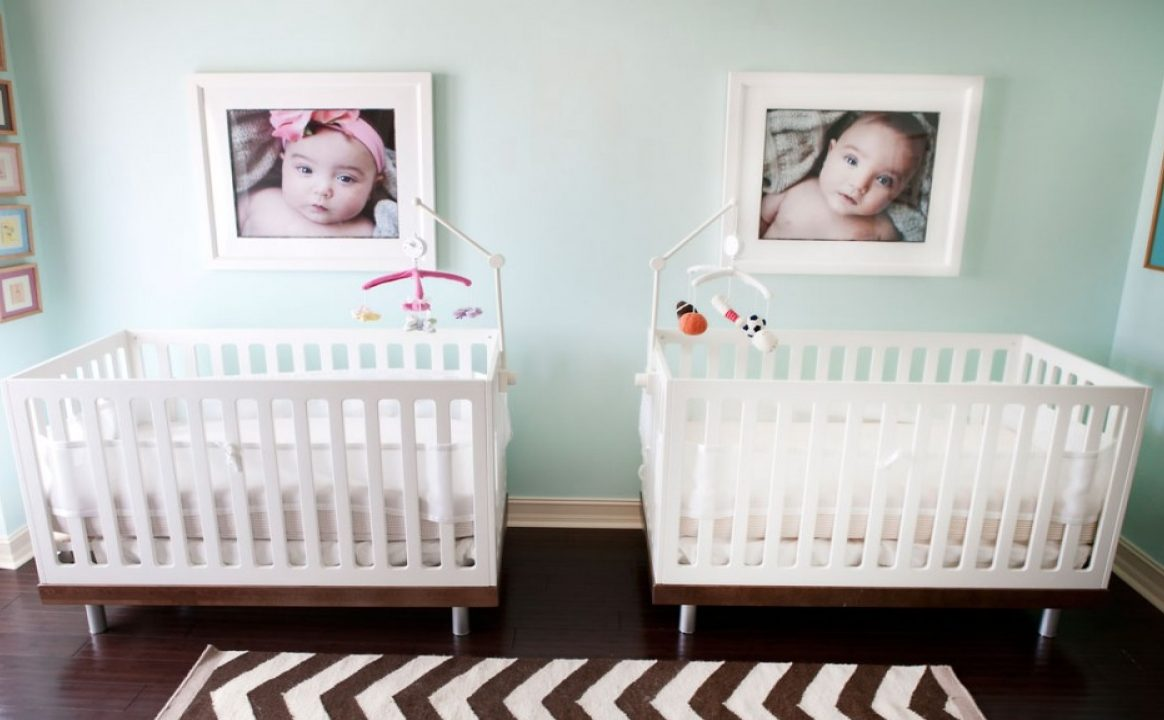 Picture Perfect Nursery for Twins