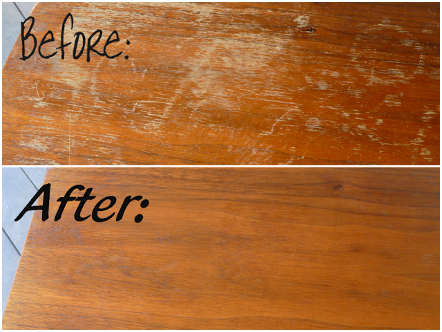 Fix Scratches in Wood With Vinegar and Olive Oil