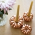 Make Pumpkin Candle Holders