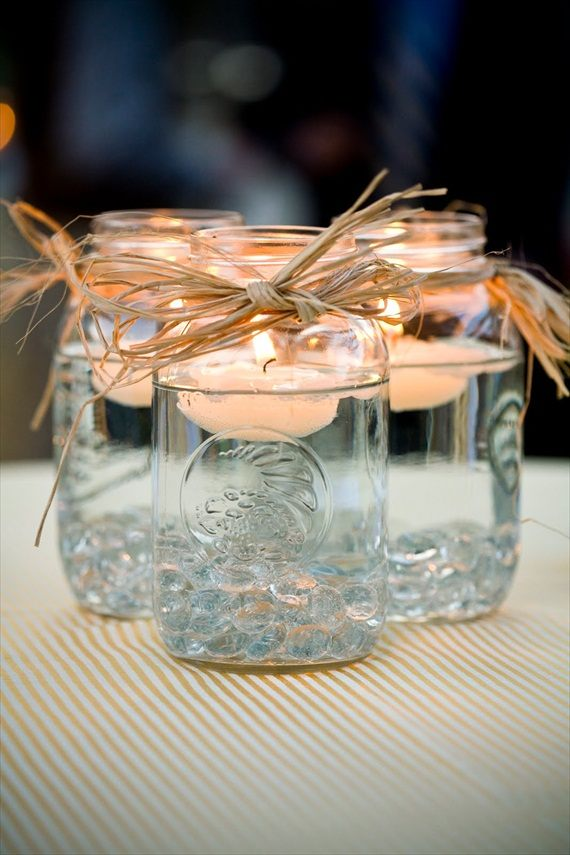 Make Pretty Floating Candles