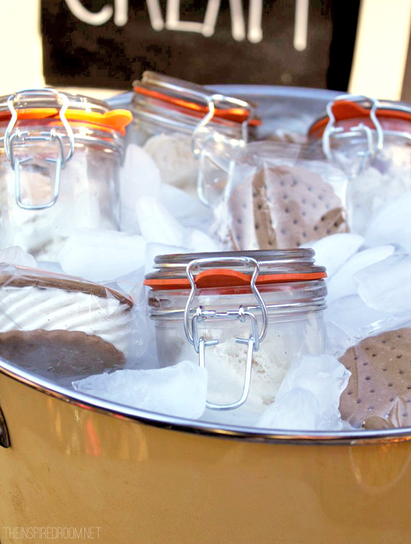 Entertain with Ice Cream in Jars